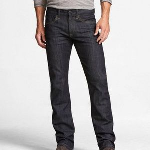Express Men's Rocco Slim Fit Straight Leg Jeans